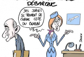 Le PDG d'Air France démissionne - CARICATURE
