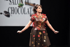 Le salon du chocolat ouvre ses portes à Paris  PHOTOS