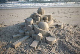 Calvin Seibert, architecte du sable - NO COMMENT